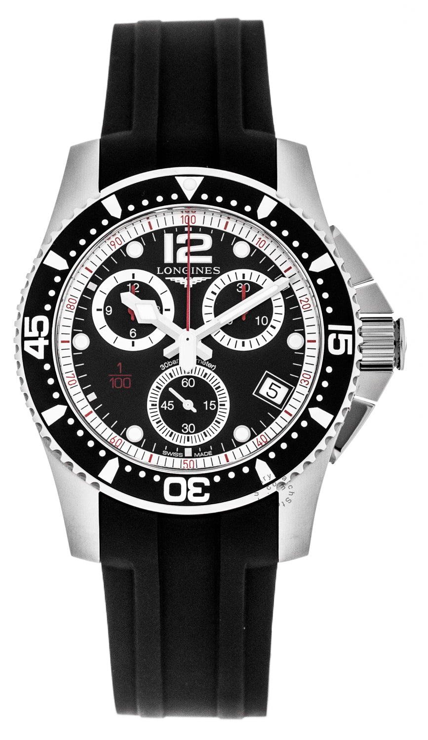 Longines HydroConquest 41mm Chrono Stainless Steel Watch L37434562