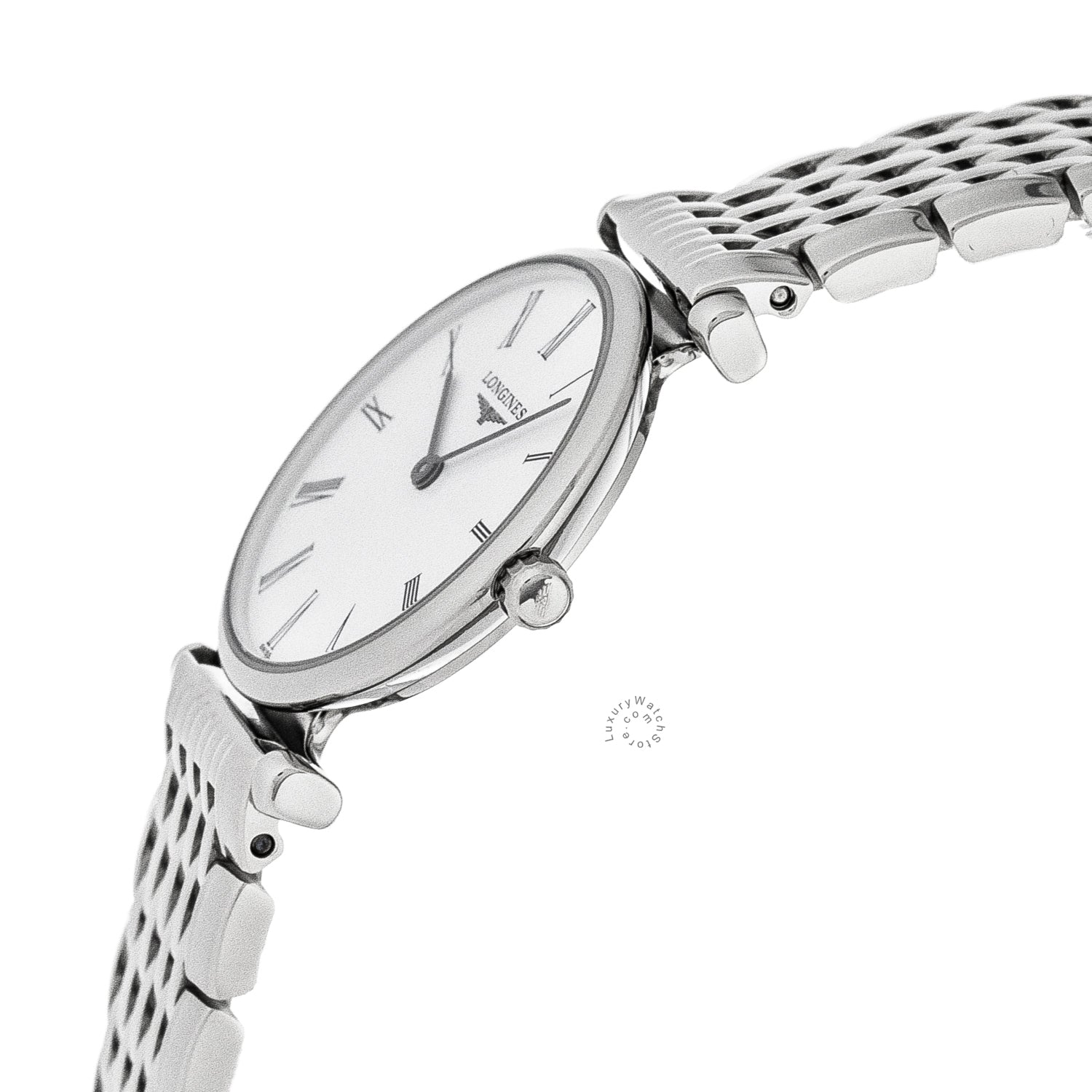 La Grande Classique De Longines 24mm Quartz SS Women's Watch L42094116