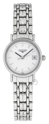 Longines Presence 23.5mm Quartz SS Women's Watch L42204126 / L43194126