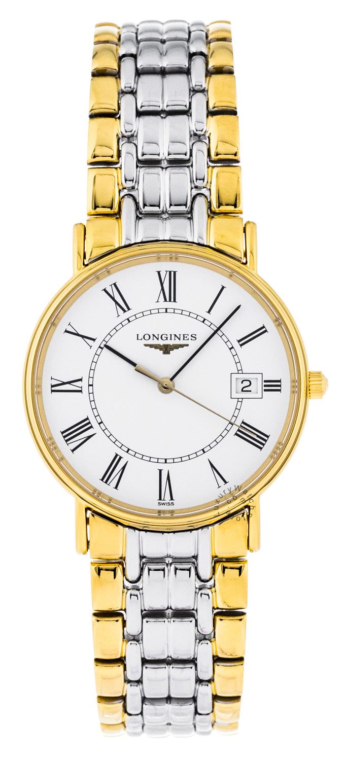 Longines Presence 33mm Automatic Two-Tone Men's Watch L47202117