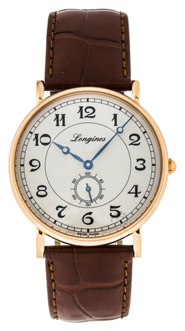 Longines Presences Heritage 35.5mm 18K Pink Gold Men's Watch L47858732