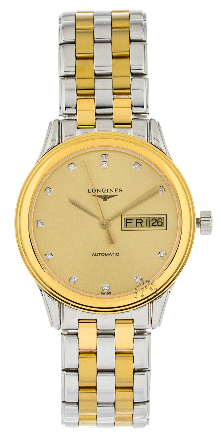 Longines Flagship 35.6mm Stainless Steel Auto Men's Watch L47993377