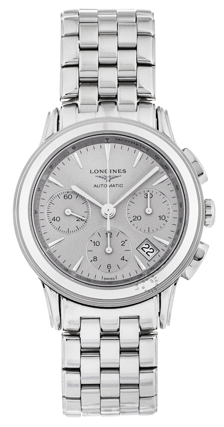 Longines Flagship 39mm Chronograph Automatic SS Men's Watch L48034726