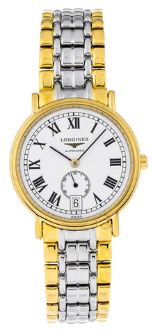 Longines Presence 34.5mm Two-Tone Automatic Watch L48042117