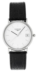 Longines  Presence 33mm Quartz SS Men's Watch L47204122 / L48194122