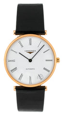 La Grande Classique De Longines 36mm Automatic Leather Watch L49081912