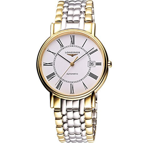Longines Presence 38.5mm Automatic PVD Two-Tone Watch L49212117