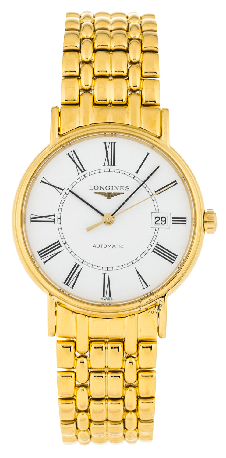 Longines Presence 38.5mm PVD Coating Automatic Watch L49212118