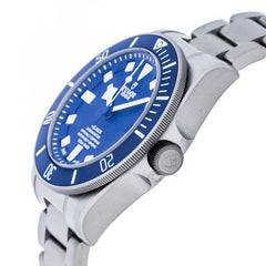 Tudor Pelagos Chronometer Blue Dial Titanium Auto Men Watch 25600TB
