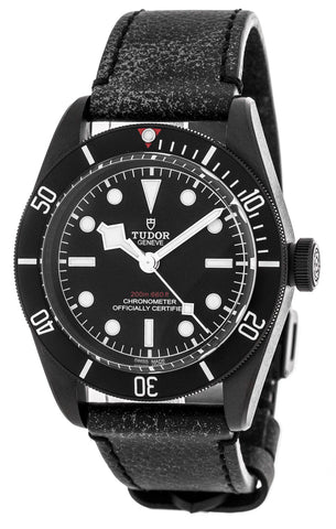 Tudor Heritage Black Bay Dark 41 Auto Aged Leather Watch 79230DK-0004