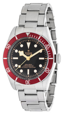 Tudor Heritage Black Bay Red Bezel Steel Automatic Men Watch 79230R