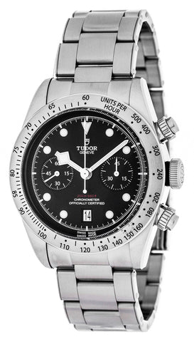 Tudor Heritage Black Bay 41 Chronograph Steel Men Watch 79350-0001
