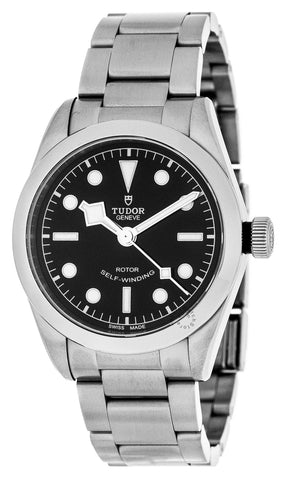 Tudor Heritage Black Bay 36 Black Dial Steel Bracelet Auto Watch 79500