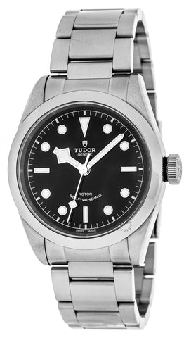 Tudor Heritage Black Bay 41 Black Dial Steel Auto Men Watch 79540-0001