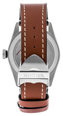 Tudor Heritage Black Bay 41 Brown Leather Straps Men Watch 79540-0003