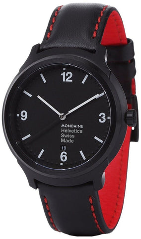 Mondaine MH1.B1221.LB Helvetica No1 New York Edition Men's Watch
