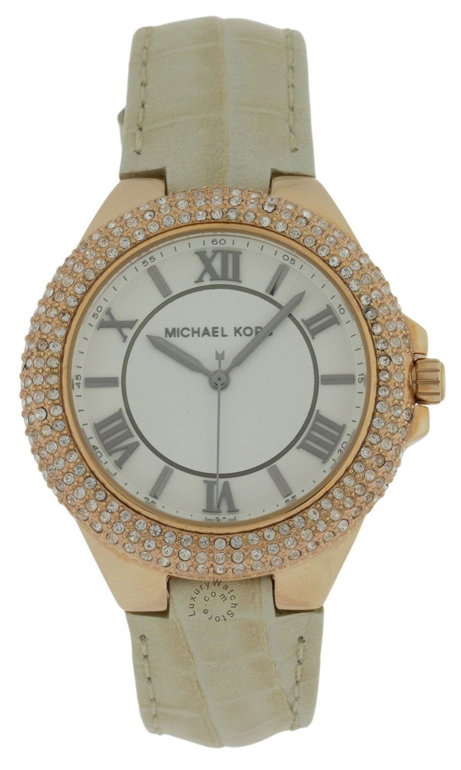 Michael Kors MK2330 Slim Camille Rose Gold Women's Leather Watch