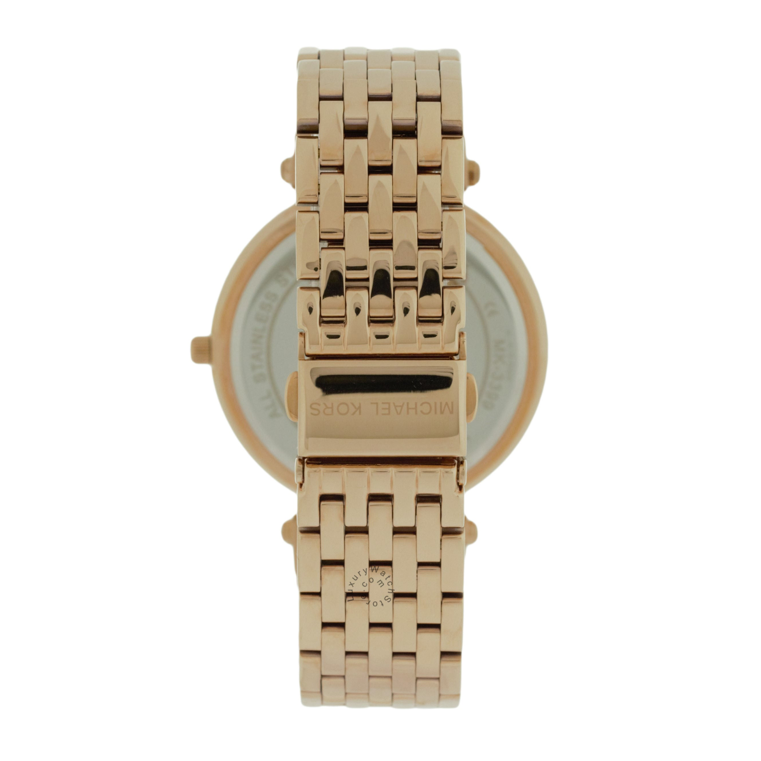 Michael Kors MK3399 Kerry Crystals Women Rose Gold Toned Steel Watch