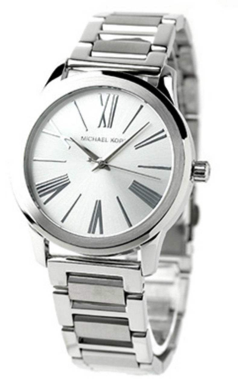 Michael Kors MK3489 Hartman Women's Silver Toned Steel Watch