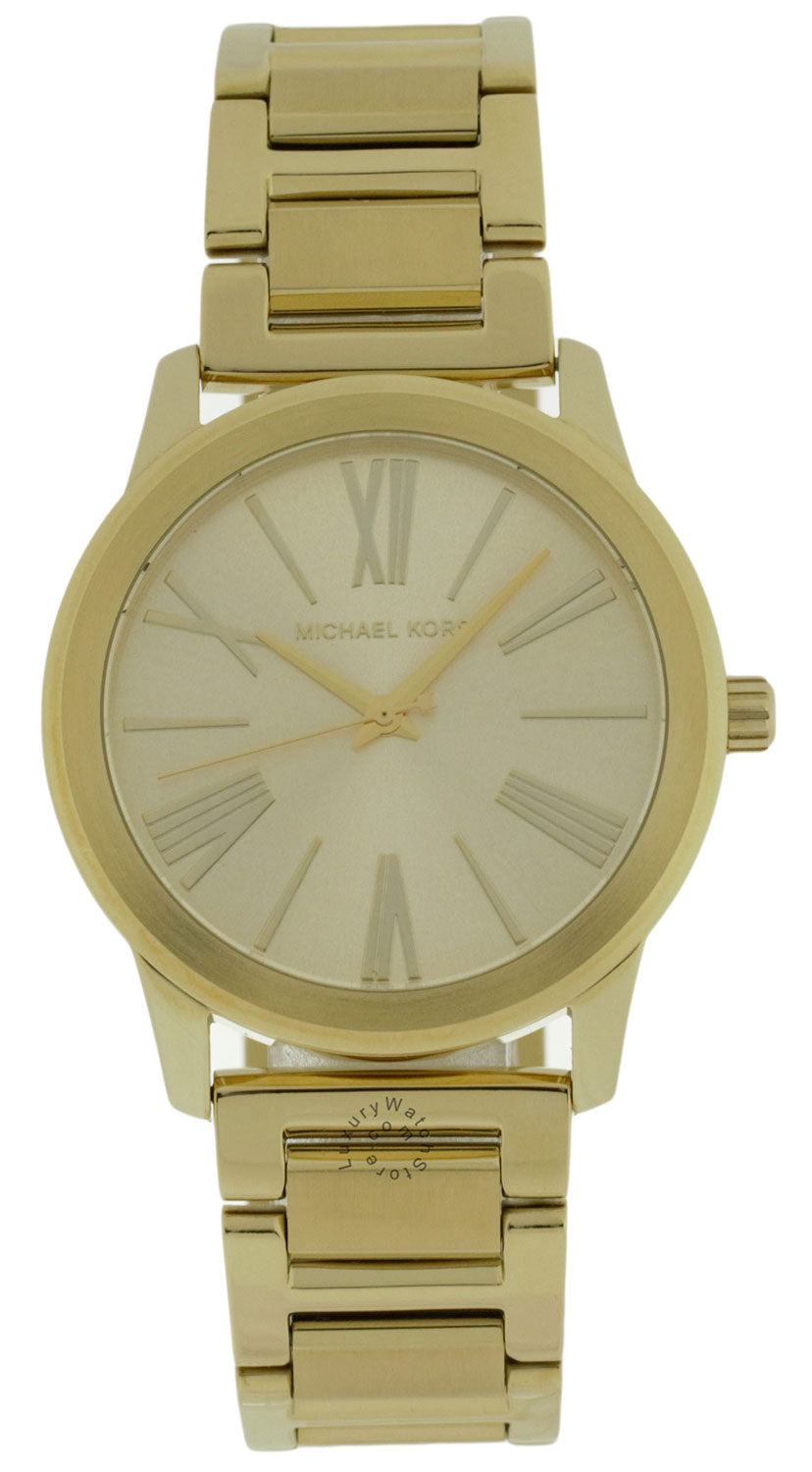 Michael Kors MK3490 Hartman Women's Gold Toned Steel Watch