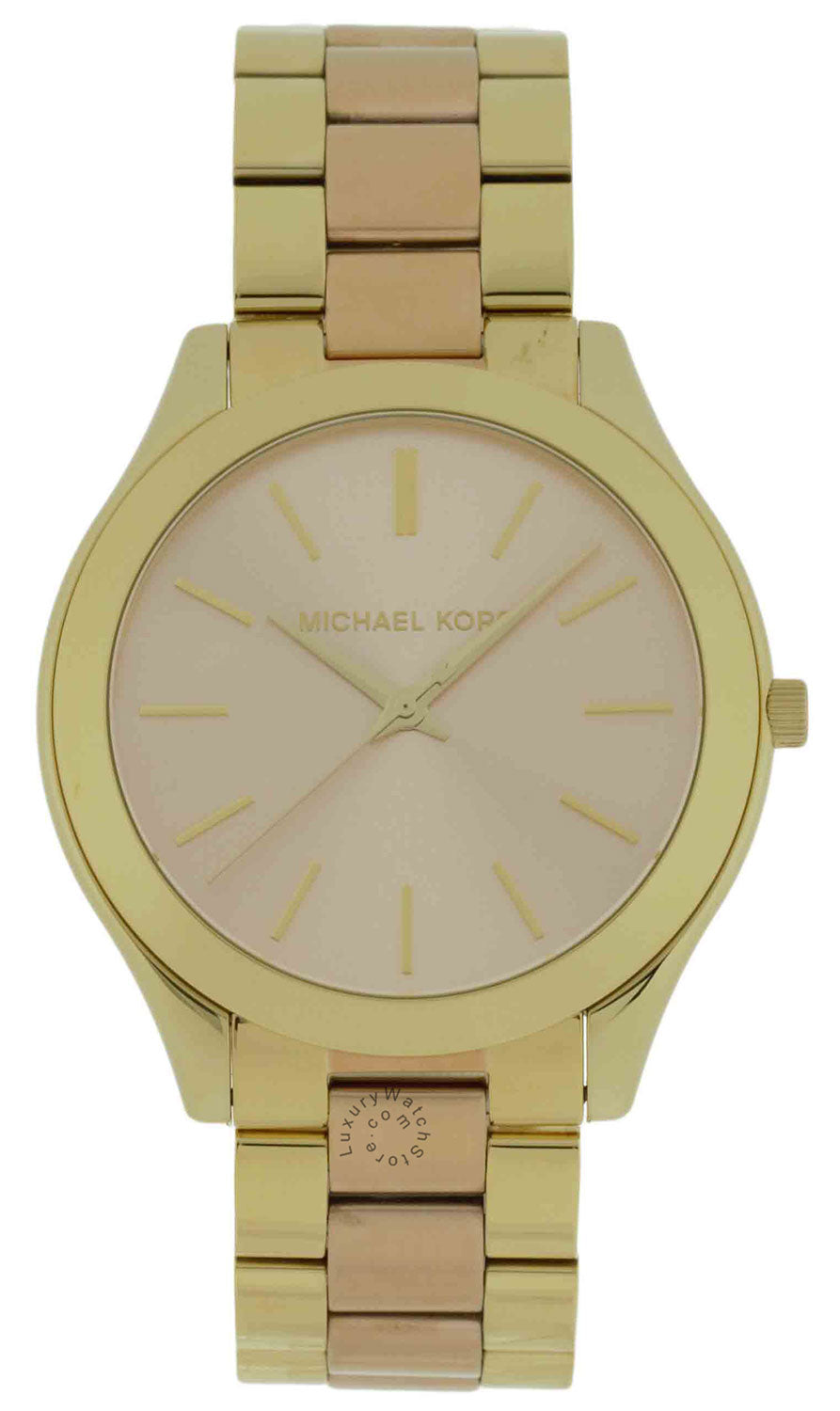 Michael Kors Slim Runway Two Toned Steel Women's Watch MK3493
