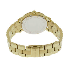 Michael Kors Norie Roman Numeral Markers Gold Toned Women Watch MK3560