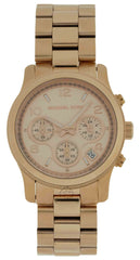 Michael Kors Runway Midsize Rose Gold Chronograph Women's Watch MK5128