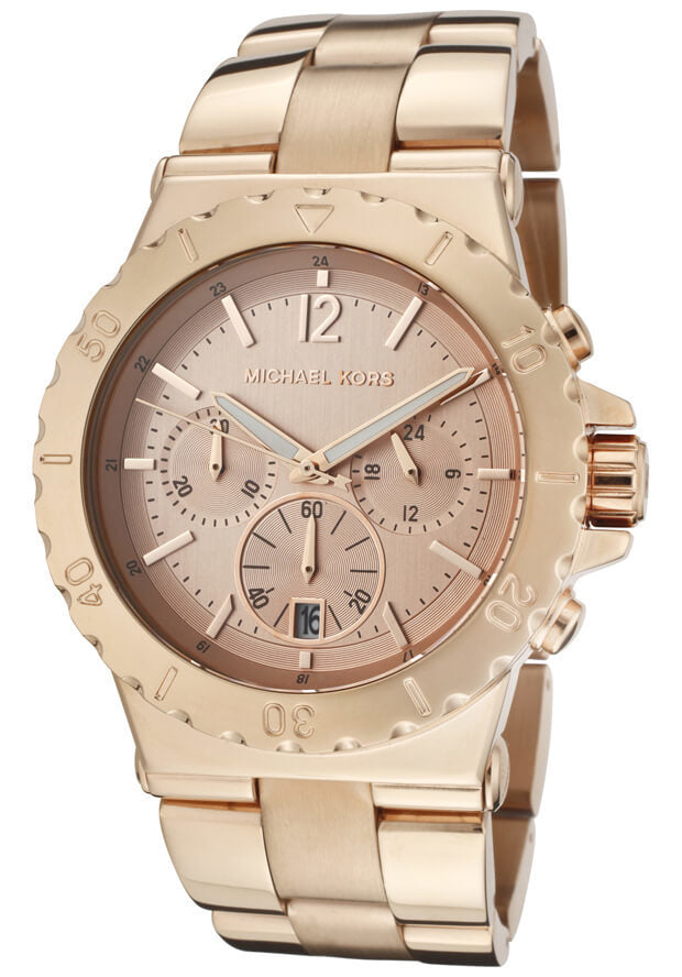 Michael Kors MK5314 Women's Rose Gold Chronograph Watch