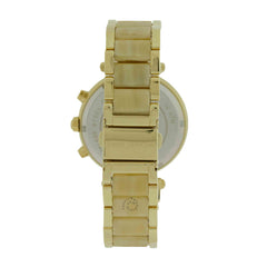 Michael Kors MK5632 Parker Chronograph Gold Dial Date Women's Watch