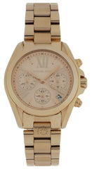 Michael Kors Bradshaw MK5799 Rose Gold-Tone Chronograph Women's Watch