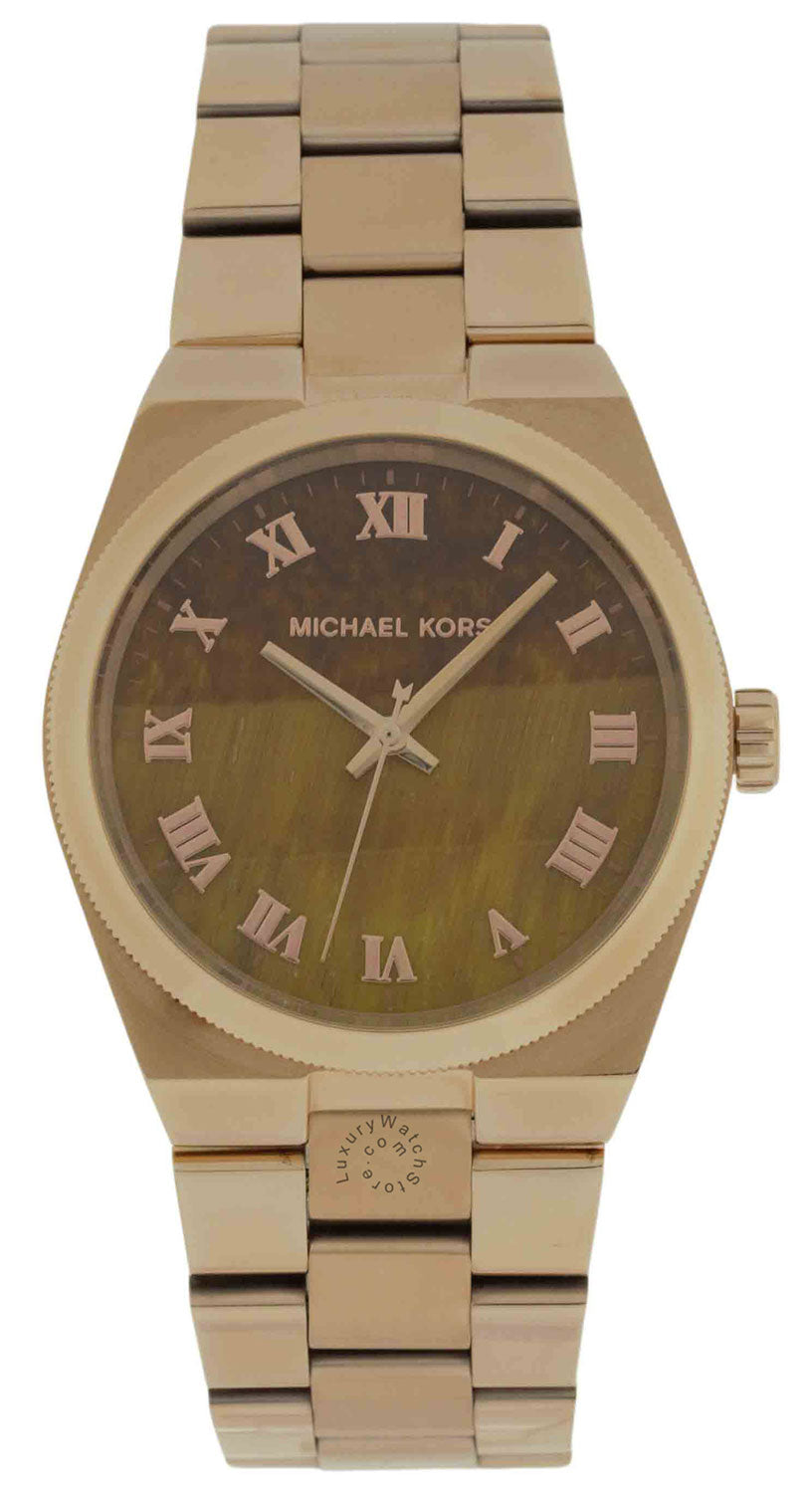 Michael Kors MK5895 Channing Brown Dial Stainless Steel Women's Watch