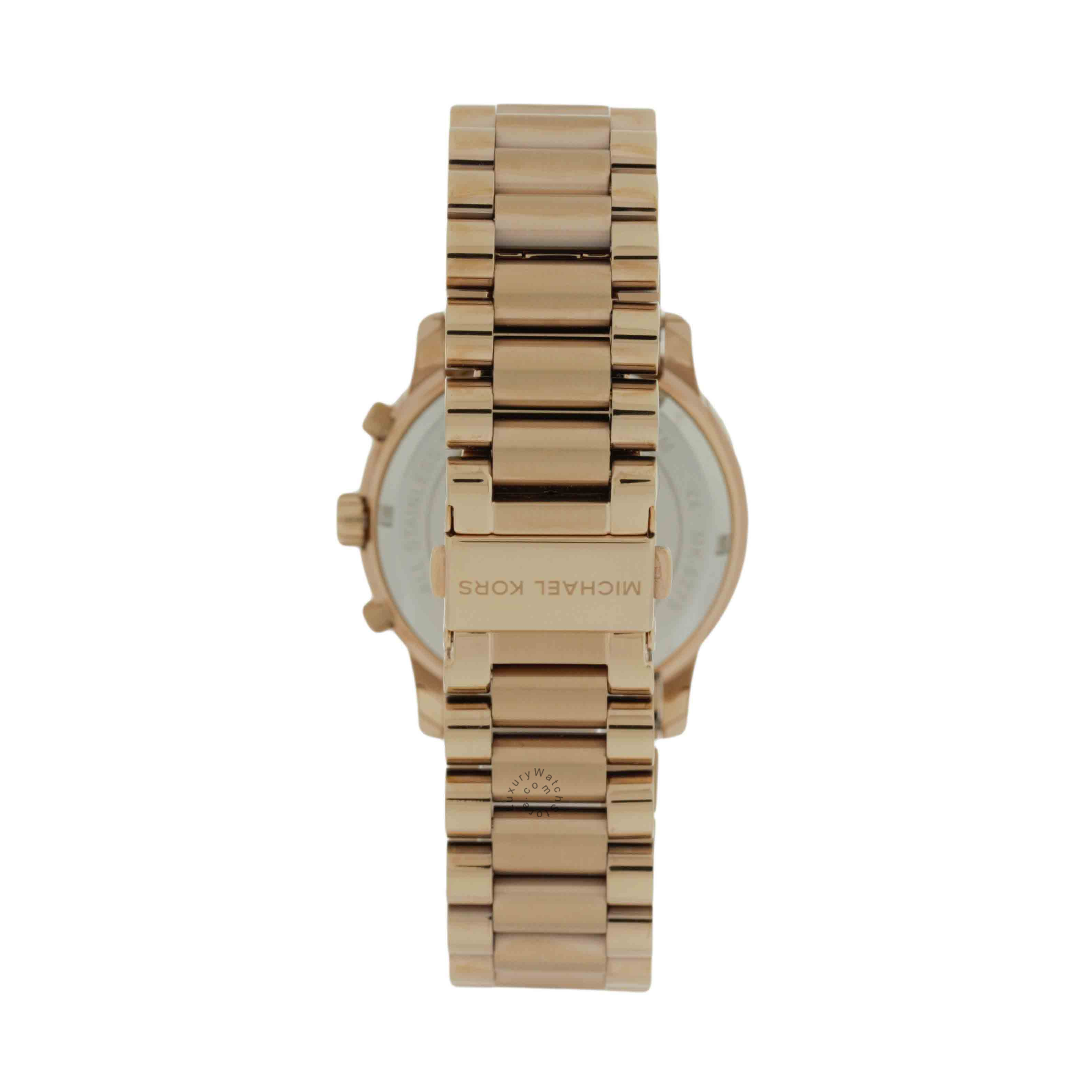 Michael Kors Cooper MK6275 Rose Gold-Tone Chronograph Women's Watch