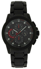 Michael Kors Ryker Chronograph Black Dial Black Steel Men Watch MK8529