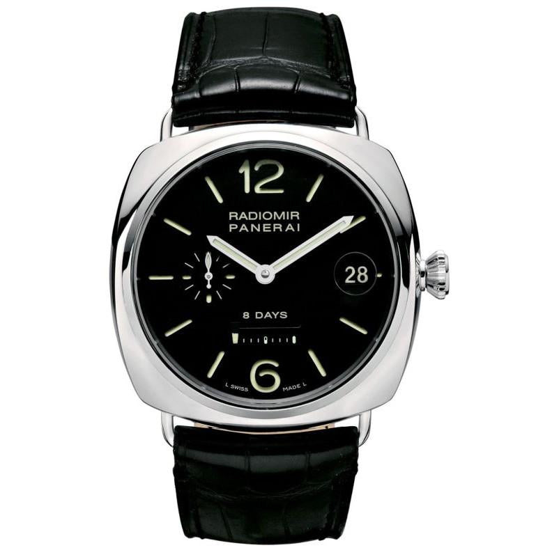 Panerai Radiomir 8 Days Manual Winding Black Dial Men's Watch PAM00268