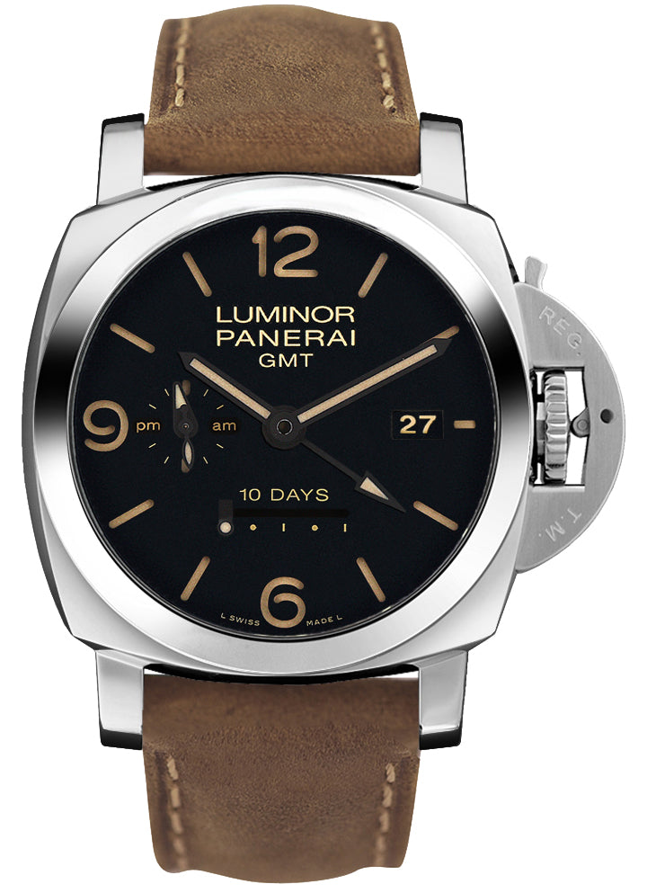 Panerai Luminor 1950 10 Days GMT Automatic Acciaio 44mm Watch PAM00533