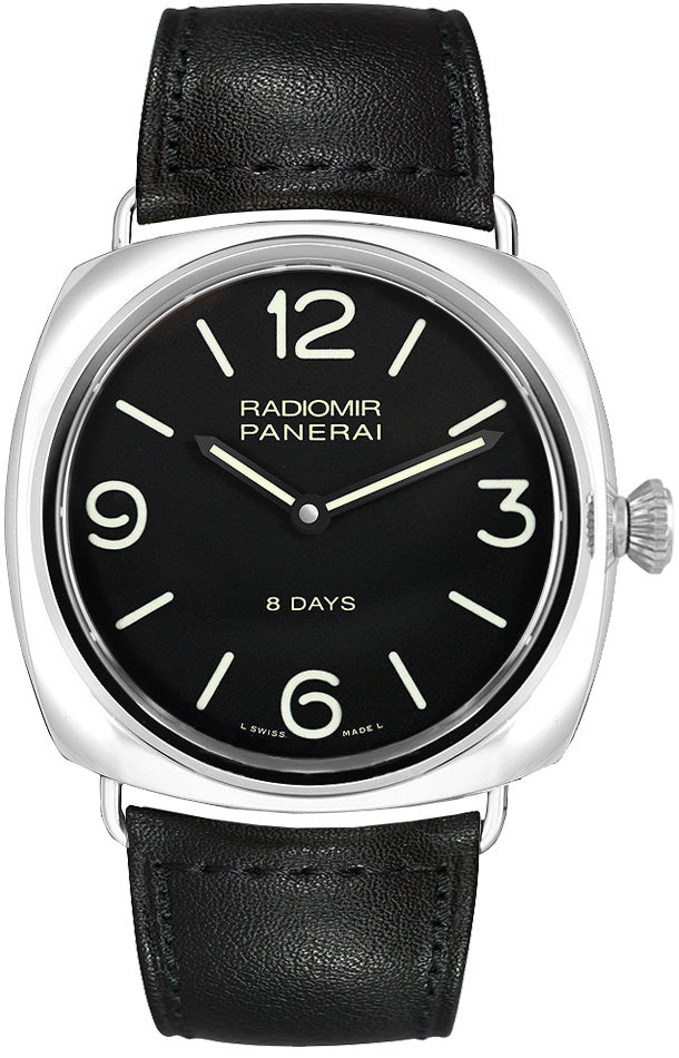 Panerai Radiomir Black Seal 8 Days Acciaio 45mm Men's Watch PAM00610