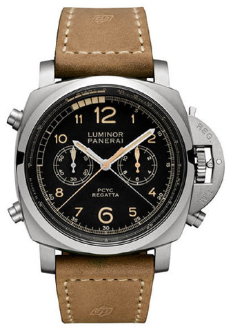 Panerai Luminor 1950 Pcyc Regatta Chron Flyback Titanio Watch PAM00652