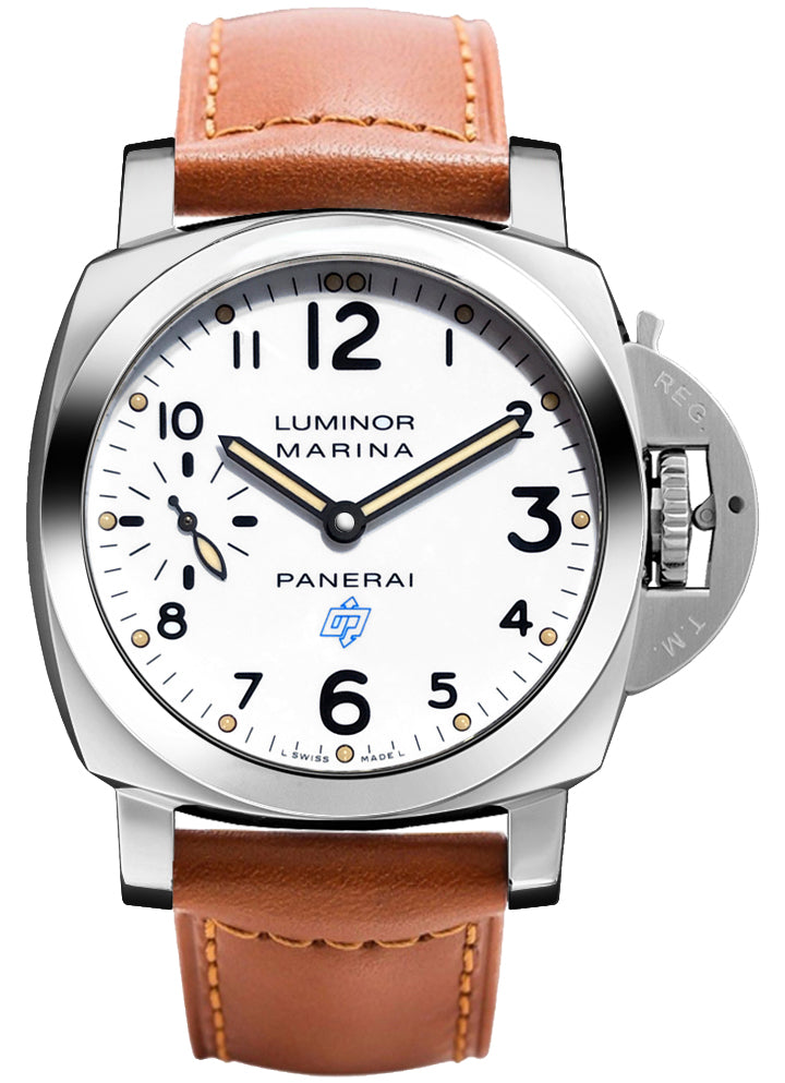 Panerai Luminor Marina Logo Acciaio 44mm SS Men's Watch PAM00660