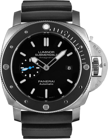 Panerai Luminor Submersible 1950 Amagnetic Auto Titanio Watch PAM01389