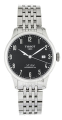 Tissot Le Locle Powermatic 80 Black Dial SS Men Watch T0064071105200