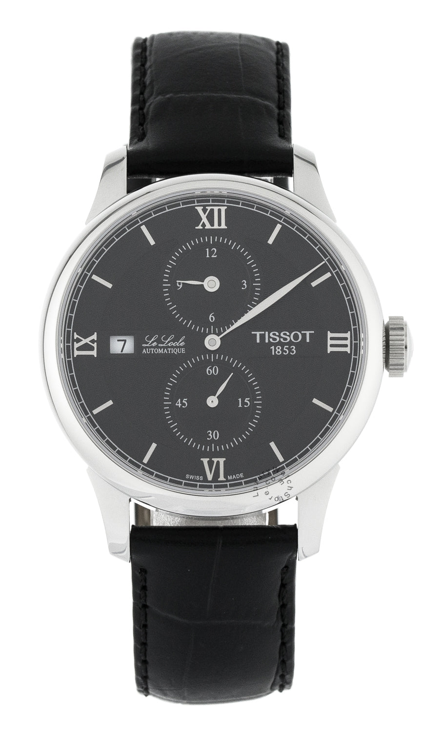 Tissot Le Locle Regulateur Leather Automatic Men Watch T0064281605802