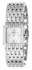 Tissot T-Trend Six-T White Pearl Dial Diamonds Women Watch T02158174
