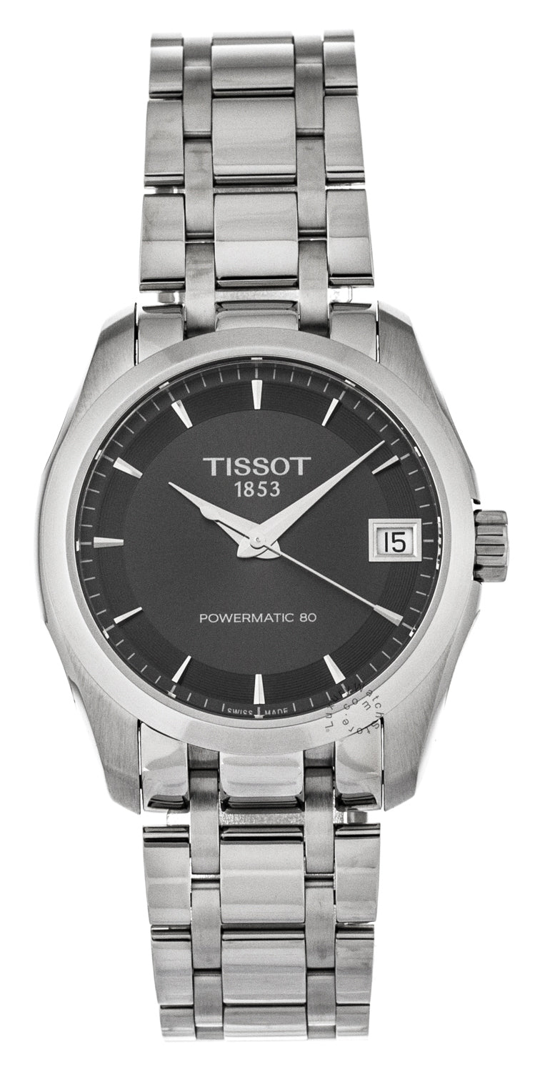 Tissot Couturier Powermatic 80 Automatic Women's Watch T0352071106100