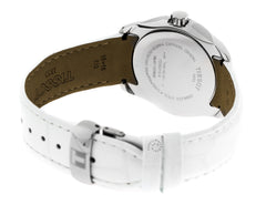 Tissot T-Trend Couturier White Leather Women's Watch T0352101601100