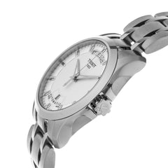 Tissot T-Trend Couturier White Dial Automatic Men Watch T0354071103100