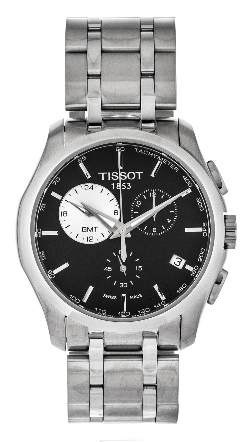 Tissot T-Trend Couturier GMT Chronograph SS Men's Watch T0354391105100