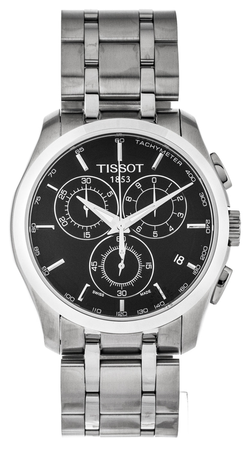 Tissot T-Trend Couturier Chronograph Steel Men's Watch T0356171105100