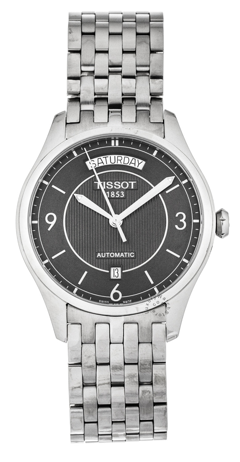 Tissot T-Classic T-One Automatic Anthracite Men's Watch T0384301106700