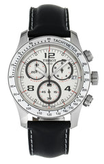 Tissot T-Sport V8 Chronograph Black Leather Men's Watch T0394171603702