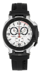 Tissot T-Sport T-Race Chronograph Rubber Men's Watch T0484172703700